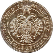 Medal - Maria Theresia – reverse
