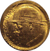 Marengo reproduction - Vittorio Emanuele III (End of WW1 - 1914 / 1918) – obverse