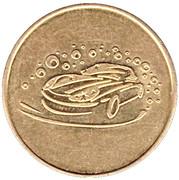 Car Wash Token - Vega – reverse