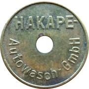 Car Wash Token - Hakape – reverse