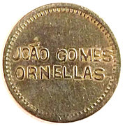 Token - João Gomes Ornellas – obverse