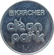 Car Wash Token - Kärcher Clean Park (SB- Auto-Wasch-Center VS) – reverse