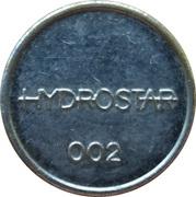 Car Wash Token - Hydrostar 002 – obverse