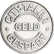 City Taler - Apotheke Sander (Bremerhaven) – reverse