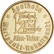 Alm Taler - Treskow Apotheke – reverse