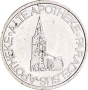 Hammer Taler - Alte Apotheke & Paracelsus Apotheke – obverse