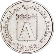 A Taler - Wittelsbacher Apotheke (Aichach) – obverse