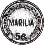 Token - Banco Popular do Brasil (Marilia) – obverse