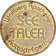 See Taler - Wallberg Apotheke, Rottach-Egern & Antonius-Vital-Apotheke (Bad Wiessee) – obverse