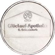 1 Glückauf Mark - Glückuaf Apotheke (Siegen) – obverse