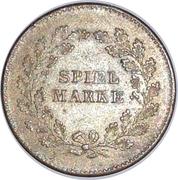 Spiel Marke (Graf V Moltke) – reverse