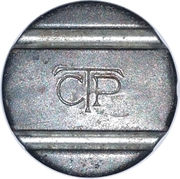 Telephone Token - CTP – obverse