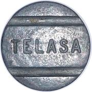 Telephone Token - TELASA (Alagoas State Local Call) – obverse