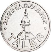 Sondershausen Taler – obverse