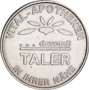 Davoudi Taler - Vital Apotheke (Enger Herford Löhne) – reverse