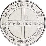 Mache Taler - Apotheke Mache – reverse