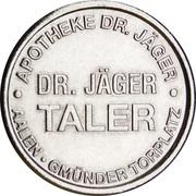 Dr. Jäger Taler - Dr. Jäger Apotheke (Aalen) – reverse