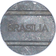 Telephone Token - BRASILIA (Local Call) – obverse
