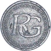 Token - RG (Silver metal) – obverse
