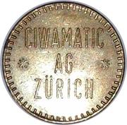 Token - Ciwamatic Ag Zürich – obverse
