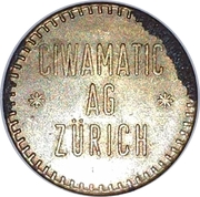 Token - Ciwamatic Ag Zürich – reverse