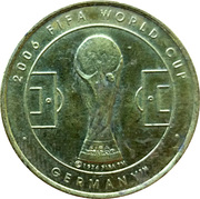 Token - 2006 FIFA World Cup (Ivory Coast) – reverse