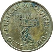 Pelikan Taler - Pelikan Apotheke (Osterburg) – obverse