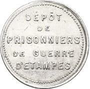 5 Centimes - POW camp (Etampes) – obverse