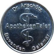 Apotheken Taler - Feldtor Apotheke & Burg Apotheke & Apotheke in Geismar (Bovenden, Geismar) – reverse