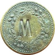 "1 Glas Bier (Countermarked ""M"") – reverse"