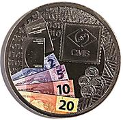 Token - Casa da Moeda do Brasil (324 years) – reverse