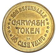 Carwash Token (No Cash Value) – reverse