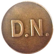 Token - D.N. (6) – obverse