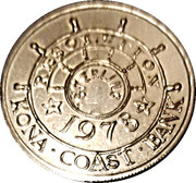 Token - Captain Cook (Kona Coast Bank) – reverse