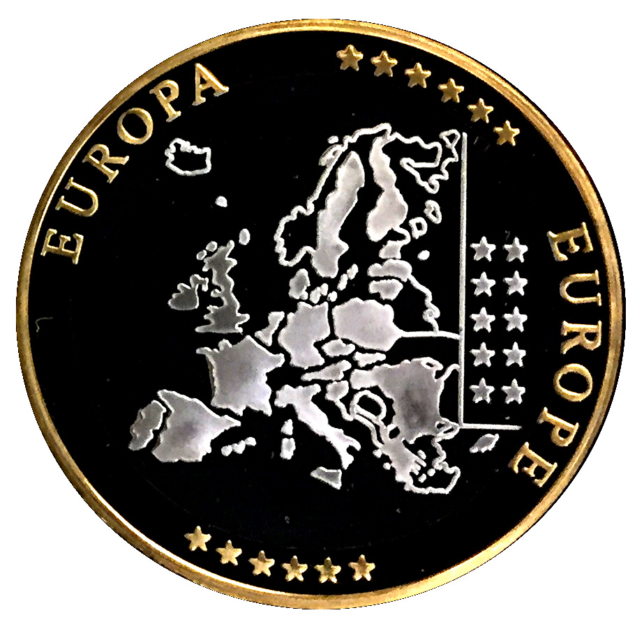 Token European Currency Vatican 50 Euro Abrahams Sacrifice