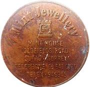 Token - Mint Jewellery (International Spring Fair) – reverse