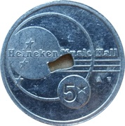 Token - Heineken Music Hall – obverse