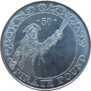 50 Pirate Pound - Simba – obverse