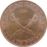 10 Pirate Pound Simba (Swords) – reverse