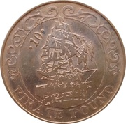 10 Pirate Pound - Simba (Ship) – obverse