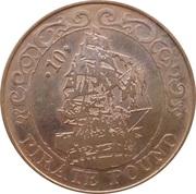 10 Pirate Pound Simba (Ship) – reverse