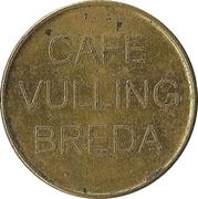 Token - Café Vulling (Breda) – reverse