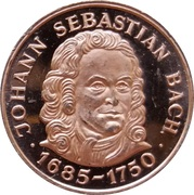 Token - Johann Sebastian Bach – obverse