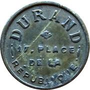 50 Centimes - Durand – obverse
