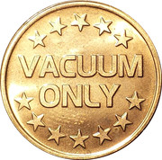 Token - Vacuum Only – obverse