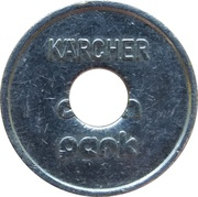 Car Wash Token - Kärcher Clean Park (Villingen) – reverse