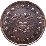 Token - No Cash Value (Eagle looking right; 22 mm; Copper) – obverse
