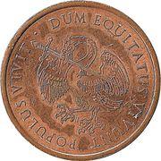 Token - Dum Equitatus vivunt Populus vivit – obverse