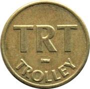 1 Fare - TRT Trolley (Virginia Beach, Virginia) – obverse