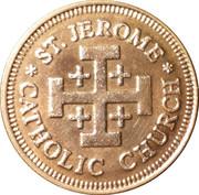 Token - St. Jerome Catholic Church – obverse